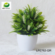 Cheap Artificial Plant With Plastic pot for Home Decoration