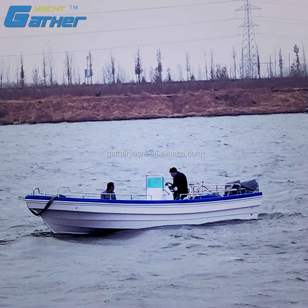 Gather High quality low price professional new 27ft fiberglass fishing boat for sale