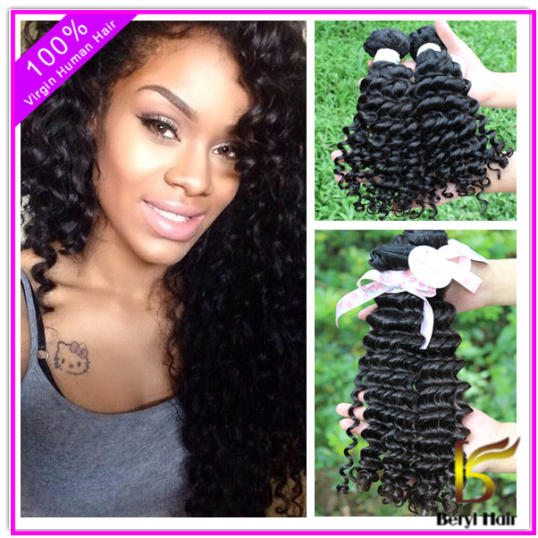 Peruvian virgin hair product,100% Human Hair virgin Peruvian Hair extension