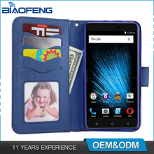 Smartphone Accessories Shell Wallet Cover Flip Card Holder Slot Mobile Phone Leather Case For Blu Vivo Xl2 V0070Uu