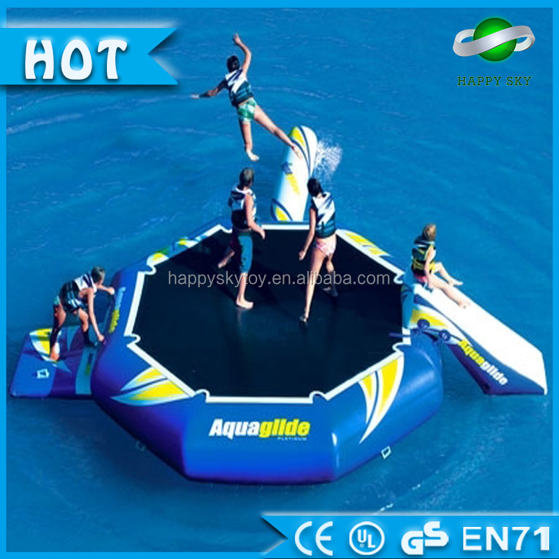 Professional Made Inflatable Trampoline,inflatable water slide and trampoline aqua fun inflatable water park