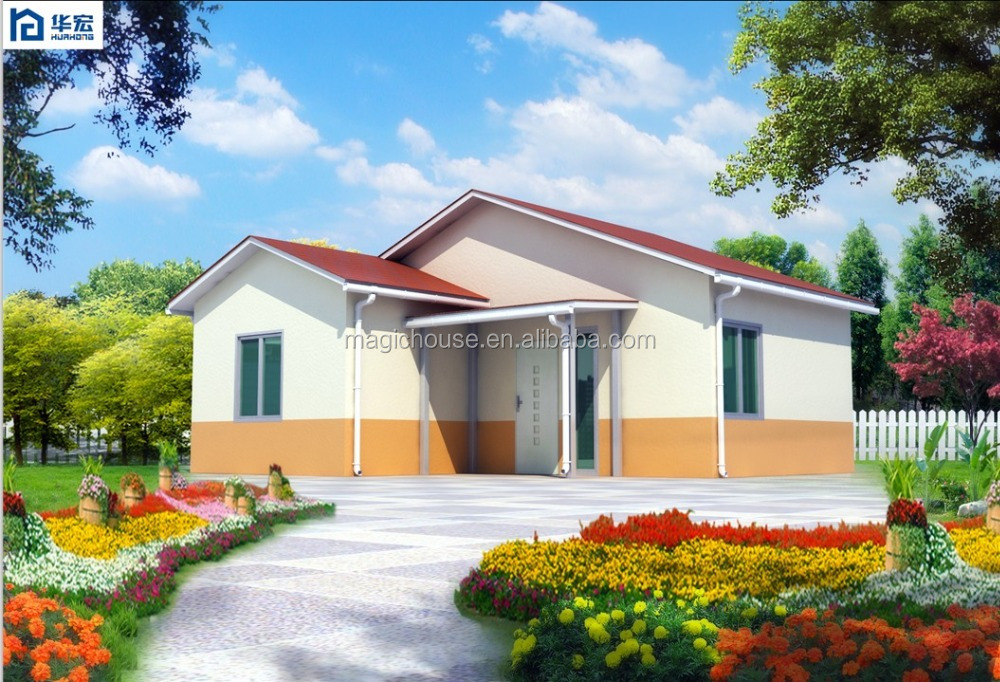 [2016 Hot Trending] Environmental Friendly Sandwich panel Container House Concrete Prefab House