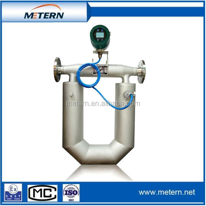 Diesel engine oil flow meter