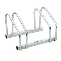 Floor Stationary Bike Wheel Rack Twin