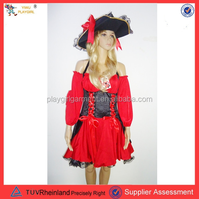 Woman pirates sexy costume adult carnival costume PGWC0045