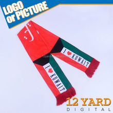 Kuwait national fashionalized scarf &national day wear holiday souvenirs scarf and shawl