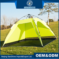 Special Design Large Space Automatic Camping Tents 2-4 Persons Sun Shade Pop Up Beach Tent