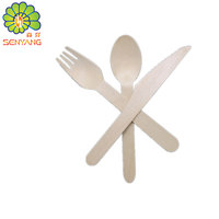 wood knife spoon and forks