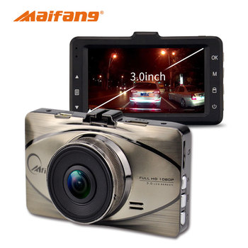 "3.0"" TFT LCD Display Car DVR With 1080P FHD Car Black Box"