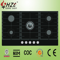2016 Kitchen appliances tempered glass gas stove for sale