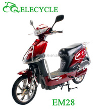 ELECYCLE EM28 48V/450W brushless with pedal light and mini Electric Motorcycle from Jiangmen, China