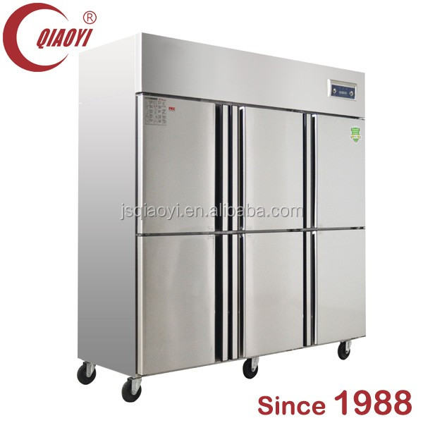 QIAOYI C2 1300L double temperature refrigerator and freezers