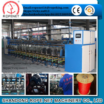 rope twister from Shandong Rope Net machinery Vicky/cell: 8618253809206