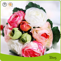 The beautiful decorative buds artificial making wedding flowers