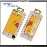 Original BASEUS Faith Flip Leather Cases Cover For iPhone 5C MT-1584