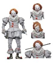 (Factory)2017 NECA IT - 7inch Scale Action Figure - Ultimate Pennywise,hot sale PVC movable toys