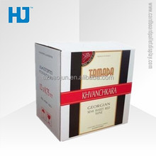 Corrugated cardboard wine offset boxes, cardboard box, cardboard packaging box