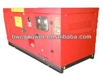 Powered by Yanmar Engine 10kw Super Silent Genset Generator