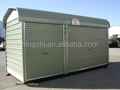 Outdoor storage shed portable storage shed steel shed for Portable outside storage sheds