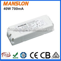 Constant current 700mA 36-58V 40W meanwell LED power supply switching