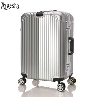Business Carry-on Suitcase Bag with Trolley & Big Wheels