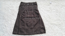 Stocks lots ladies 55%WOOL 45%POLYESTER fashion sexy skirt