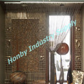 6mm Metal Hanging Beaded Curtain for Door/Divider/Partition