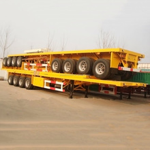 2016 Brand New TOP quality 40 TON Flatbed semi trailer/truck trailer/remorque with LOW Price