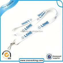 Fashion new cheap zipper lanyard with keychain
