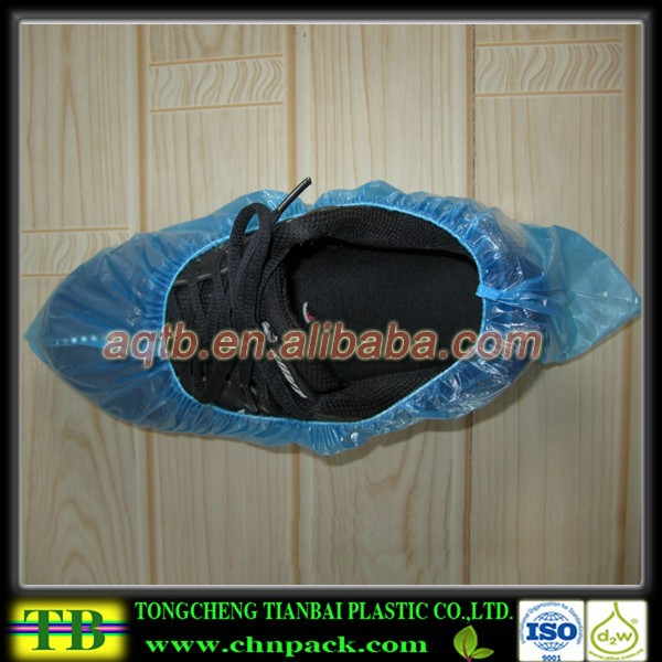 daily use Plastic gardening overshoes/disposable overshoes