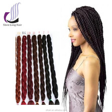 2017 synthetic hair kanekalon hair braids, Japanese kanekalon fiber synthetic hair