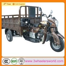 China Supplier Lifan brand 250cc engine used three wheel covered motorcycle sidecar /Cargo Tricycle Bicycle