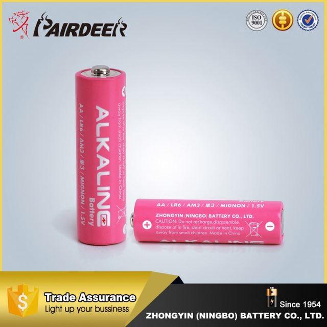 Excellent 1.5v alkaline battery aa/lr6/am3 1.5v alkaline alkaline battery pack