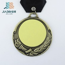 We have stock custom metal made blanks cheap sports medal