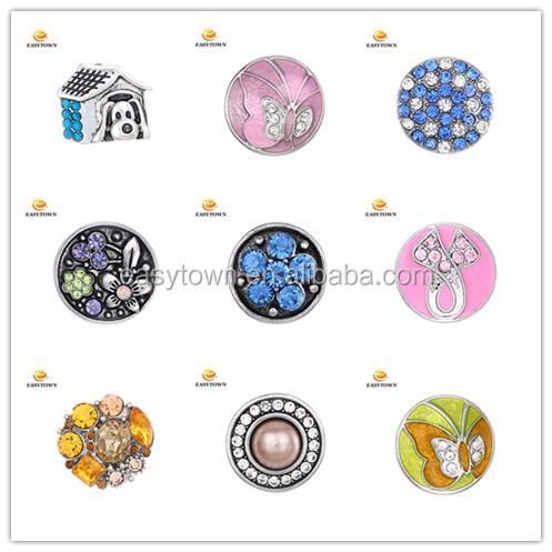 2016 Fashion 18-20mm Ginger Snaps Buttons For Women DIY Jewelry