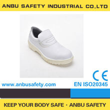 lightweight white PU injection and cheap kitchen hotel shoes for chef cooking