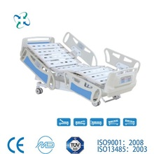 Hot sale! Nantong Medical top level hydraulic 2 crank manual hospital bed