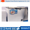 200L -40 degree laboratory deep chest freezer with temperature alarm