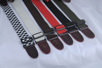 Factory leather head OEM guitar strap