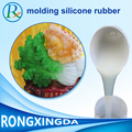 Liquid mould making silicone rubber material especially for resin, gypsum, plastic ,GRP and GRC material products