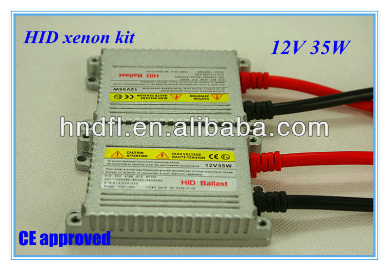 2013 Defeilang real factory CE approved H4-2 high quality wholesale price HID xenon kit DC/AC 12v 24v 35w 55w 75w 3000K~30000k