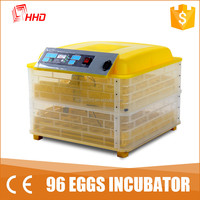 best prices home used mini poultry quail egg incubator for sale YZ-96A