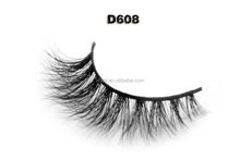 Private label 3D mink fur lashes own brand eyelashes manufacturer