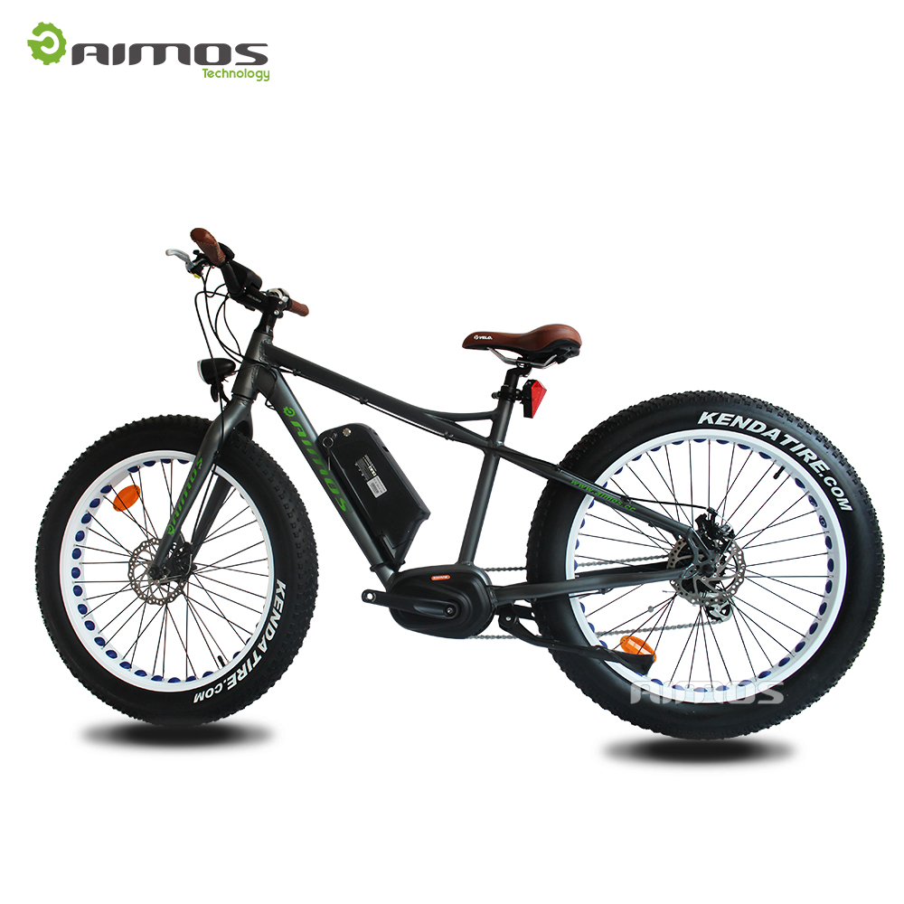 Aimos Two wheel cheap pocket bike 26''*4.0 fat electric bike
