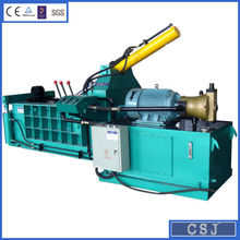 Horizontal used scrap metal baling press waste metal baler (CE,SGS,ISO901)