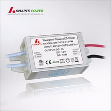 12v 9w 12w constant voltage led bulbs driver with CE UL approval
