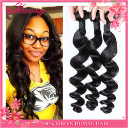 Brazilian Loose Wave Hair Extension Factory Wholesale Unprocessed 7A Loose Deep Wave 100% Virgin brazilian Hair