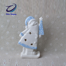 hand painted ceramic christmas angel decoration figurine