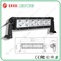 "High Power 10-30V 5400Lumen 6000K CE RoHS IP67 13.5"" 60W CREE LED Light Bar for Dirt Bike"