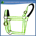 Colorful Reflective Nylon Padded Horse Halter for Racing